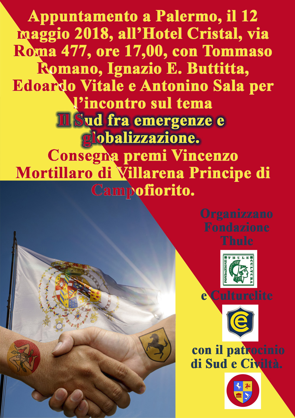 annuncio convegno Palermo 2018 A unico livello 1000